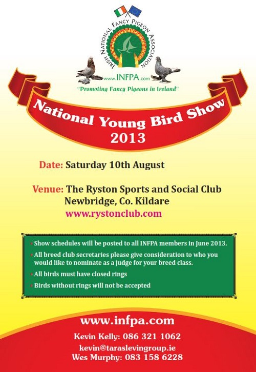 National Young Bird Show 2013